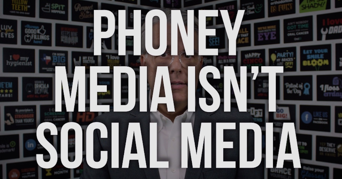 Phoney Media Isn't Social Media