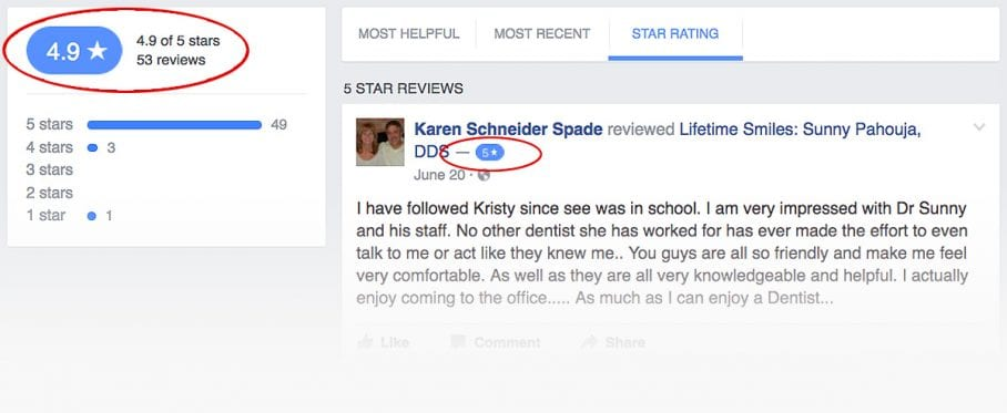 Attract Attention to Your Positive Reviews