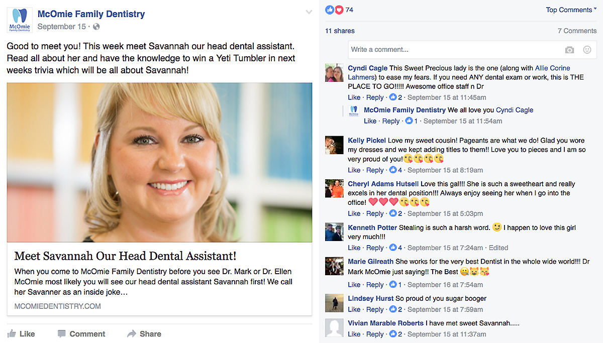 How to Create Dental Facebook Posts That Boost Your Dental