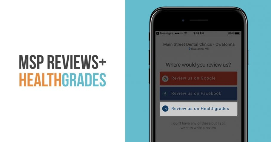 MSP Reviews Now Integrates With Healthgrades - My Social Practice