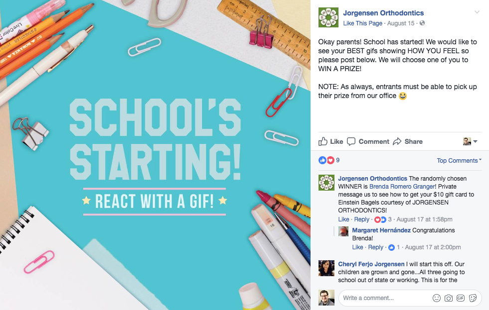 back to school marketing for dentists