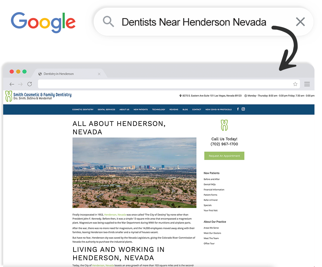 seo for dental offices and orthodontists